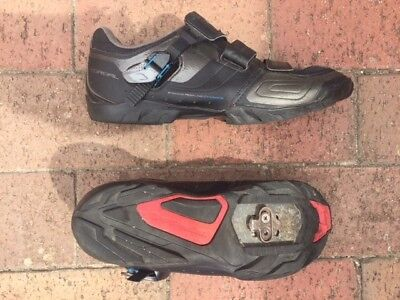 Shimano TORBAL M089 SPD Mountain Bike Shoes Size 43 complete with cleats