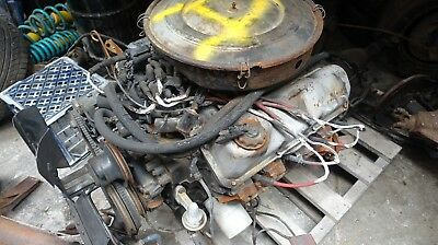 Ford Cleveland 351 Engine Fmx Automatic complete removed from a Xe Fairmont Ghia