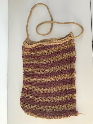 Old Authentic Aboriginal Dilly Bag