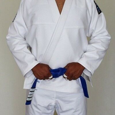 CLEARANCE: Adult Cotton BJJ Gi 350gsm PEARL WEAVE JACKET and RIPSTOP TROUSERS