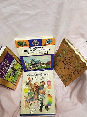 4 classic books. Black Beauty, Beatrix Potter, Thomas the Tank Engine, Shirley H
