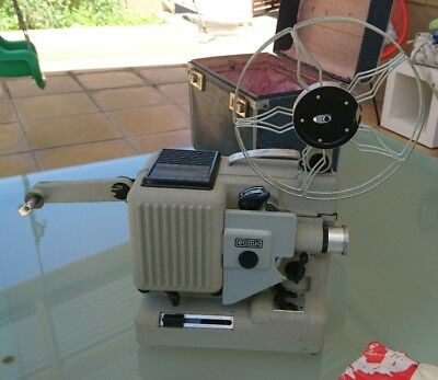 Vintage Eumig Wien Type P8 Automatic Cine Projector In Case Made In Australia