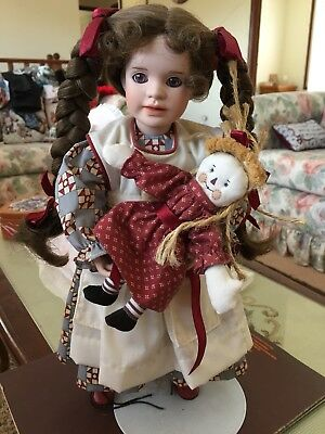 Cinnamon Rags by Wendy Lawton - RARE Artist Doll-  Sale Price !!!