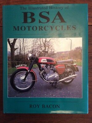 BSA motorcycles history book - Excellent Unmarked Copy