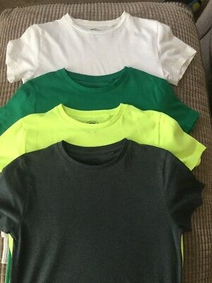 Next Boys 4 Pack Summer T-Shirts Age 11 Years In Excellent Condition