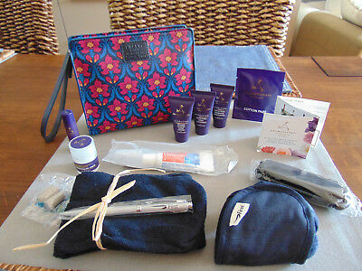 BRITISH AIRWAYS BA First Class LIBERTY Amenity Kit Trousse Neceser Kulturbeutel