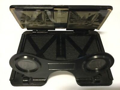 CONWAY VINTAGE STEREO VIEWER - Made In England - Rare, with 3 Slides.