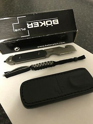 "boker Knives ""Cop Tool"" Stainless Steel Tactical Rescue Knife"
