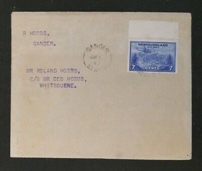 Newfoundland Stamp Used Cover