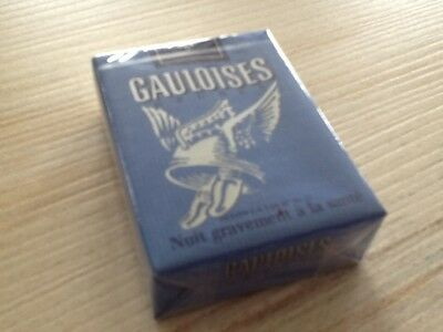 "Ancien Paquet de cigarette plein"" gauloises @@@"" pour collection uniquement"