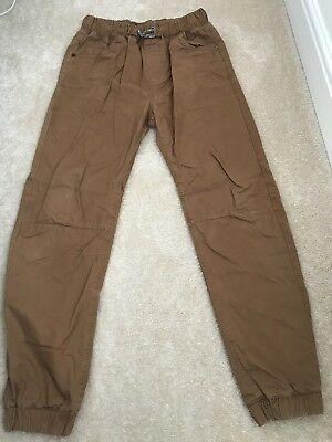 Boys Fully Lined Cotton Joggers From Next 14 Years