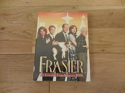 Frasier Series 3 Third Season Complete Dvd Box Set Brand New And Sealed Uk Pal