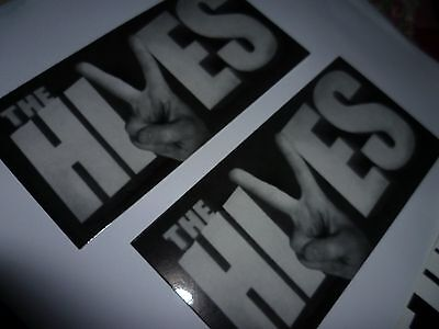 New The HIVES band indie rock STICKERS lot of 2 new official FREE SHIPPING