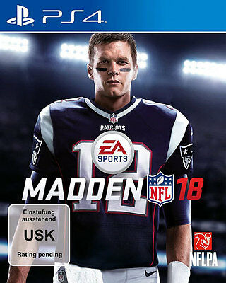 Sony PS4 Playstation 4 Spiel ***** Madden NFL 18 2018 *******************NEU*NEW