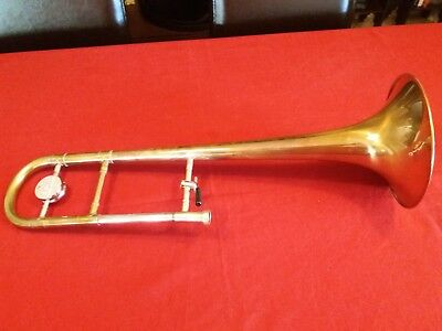 TROMBONE BELL CONN 8H, authentic without lacquer in finish.