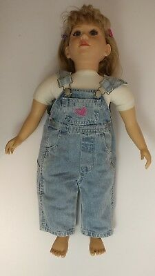 My Twinn 23 Inch Poseable Doll TLC but nice! Adult collectible htf hard to find