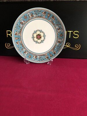 """Wedgwood Florentine Turquoise W2714 Salad Plate / Small Dinner Plates 9.5"""""""