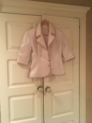 Ladies Tailor Made Jacket Size 10