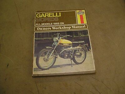 Garelli Mopeds Manual By Haynes