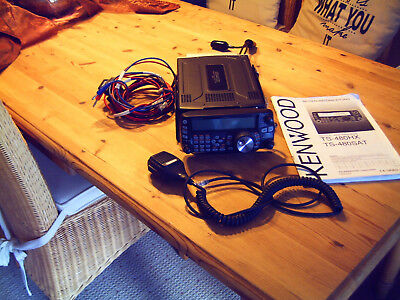 """HF/50 MHz  ALL MODE TRANCEIVER KENWOOD """"TS - 480 SAT"""""""