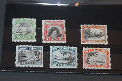 Niue - 1932 Nr Complete Set - Mounted Mint