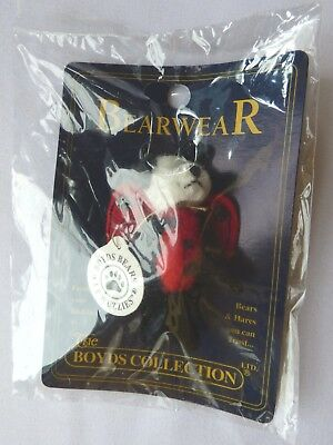 New Boyds Bear TF WUZZIES LADY BUG Bearwear Collection Pin - Sealed in Package