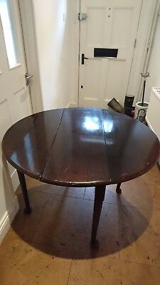 17th Century antique oak Welsh table