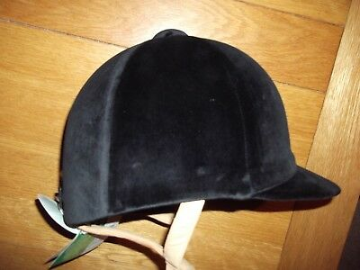 New  7 1/2 - 61cm  Black Champion CPX 3000 Deluxe Riding Hat pas015:1998  BNWT