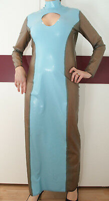 Latex Rubber Gummi Latex Schwesternkleid Rubber Dress Latexkleid