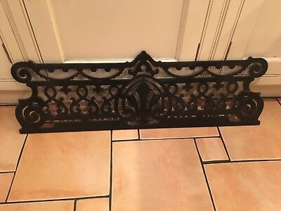 Bechstein Grand Piano Music Rack. Ornate. Age unknown but old. Ebony veneer.