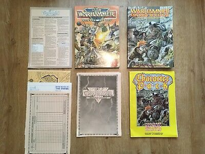 Warhammer Fantasy Roleplay and Battle Rule Books