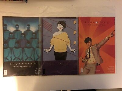 Phonogram The Immaterial Girl 1 3 4 (Kieron Gillen, Jamie McKelvie, Image Comics