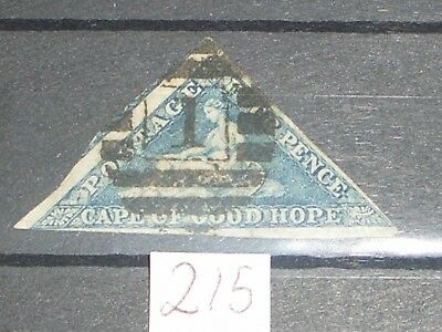 Queen Victoria Cape of good hope stamp high cat value  D