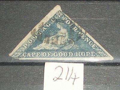 Queen Victoria Cape of good hope stamp high cat value  A