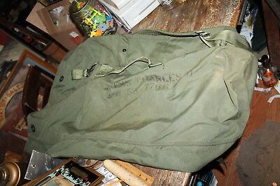 Original US Army Military GI Issued Nylon Duffel Bag in excellent used condition