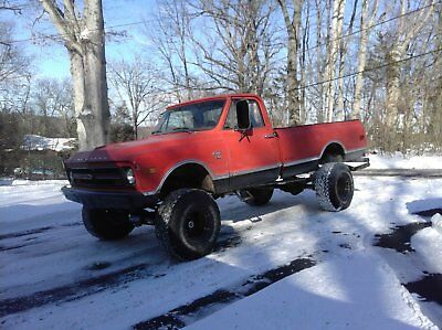 1970 Chevrolet C/K Pickup 2500  1968 k20 truck 4x4 on 1980 frame 1970 cab and title