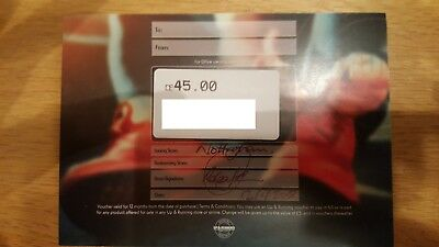 Up and Running voucher £45
