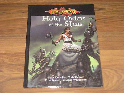 D&D 3.0 / 3.5 Dragonlance Holy Orders of the Stars Hardcover Accessory WotC 2005
