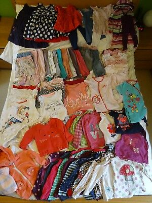 Baby Girl Clothes Bundle - 9 -12 months