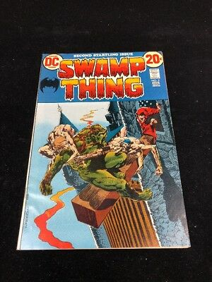 Swamp Thing #2 (1973) Wrightson! VF+. $.99 HIGH GRADE