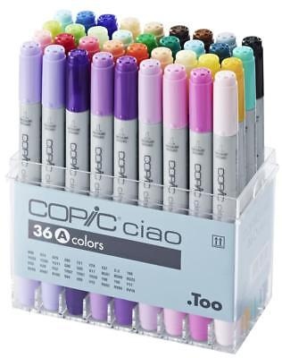 Too Copic ciao Marker / Filzstifte Set A mit 36 Stiften  (japan import)