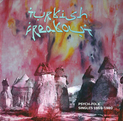 Turkish Freakout Vol.1 - Psych-Folk Singles 68-80 (2LP+7Inch) Sealed!