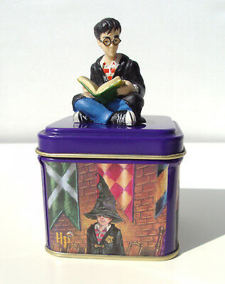 Boîte collector Harry Potter sorciers J.K. Rowling KCL 1999 kidditch figurine