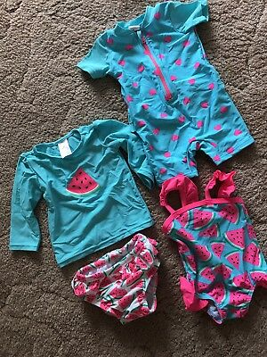 Baby Girls Swimmers Size 00 - 3-6 Months