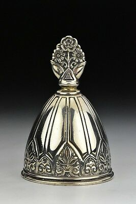 Early Tiffany & Co. Arts & Crafts Sterling Silver Bell  4.3 Troy Ounces