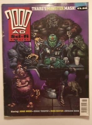 2000ad Sci-fi Special 1991