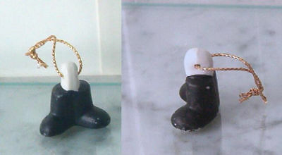 Russ Ceramic Bell Replacement Tongue Clapper in shape of Feet