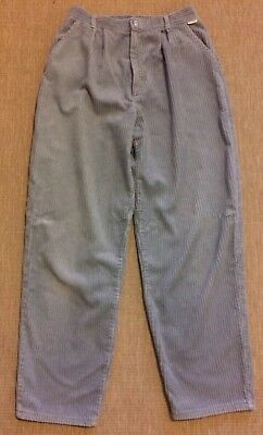 True Vintage Thick Corduroy Trousers From Early 90s, Vgc, approx size 10
