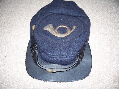 civil war reenactor Union Kepi