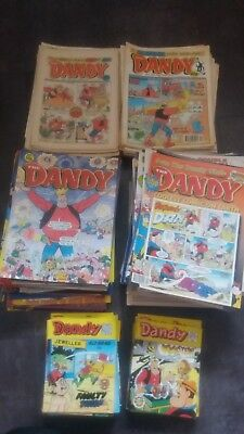 Huge Dandy comic job lot (over 200)